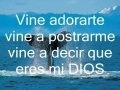 Share and upload your Christian melody videos at godmelody-Marcela Gandara - Vine a adorarte