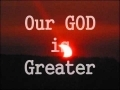 "Godmelody and-""Our GOD is Greater"" lyrics video (Chris Tomlin)"