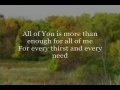 "Godmelody and-""Enough"" Chris Tomlin"