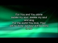 Godmelody and-Chris Tomlin - Awakening with lyrics